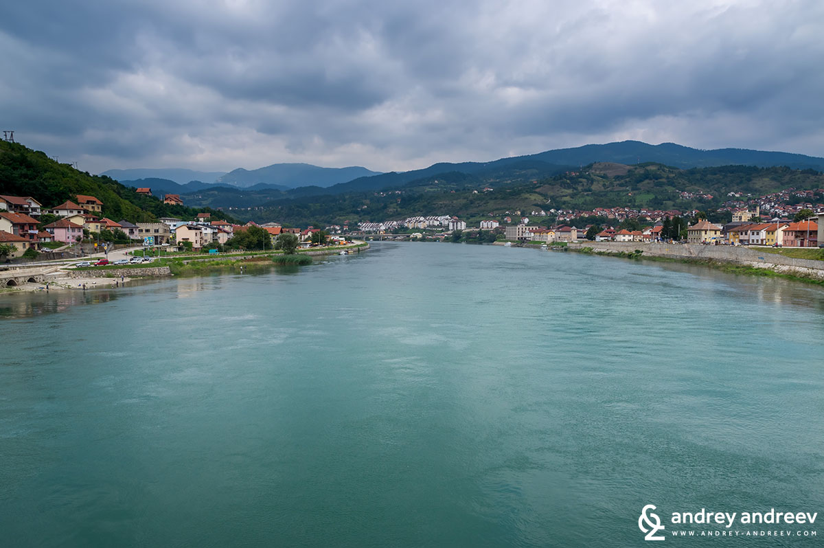 amazing Drina, Visegrad, Bosnia and Herzegovina