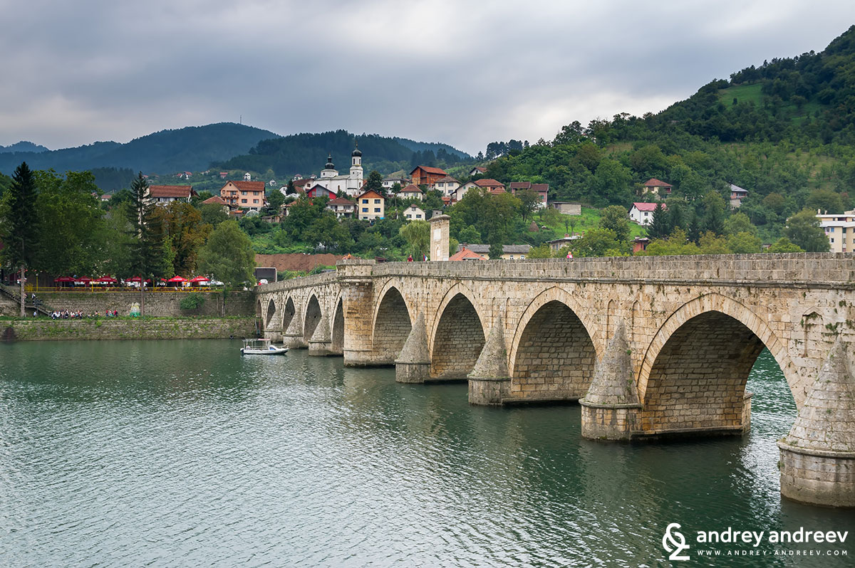 Bridge on Drina, Visegrad, Bosnia and Herzegovina