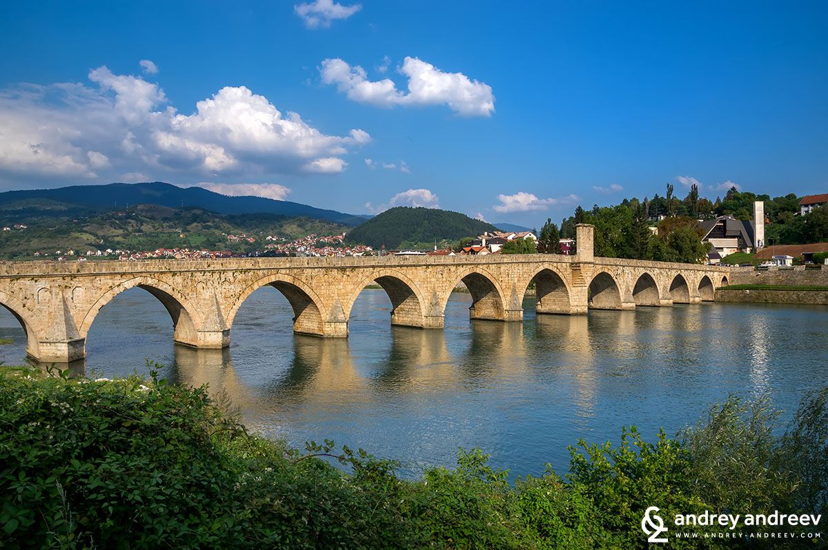 The bridge on Drina river