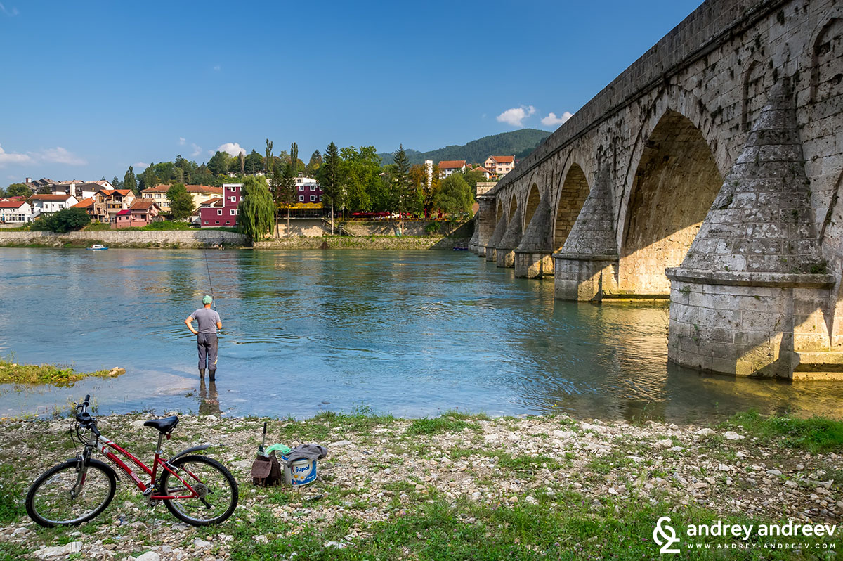Mehmed Pasha Sokolovic bridge on the Drina, Visegrad, Bosnia and Herzegovina