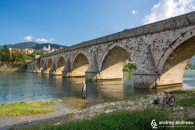 The Bridge on the Drina, Mehmed Paša Sokolović Bridge of Višegrad, Bosnia and Herzegovina