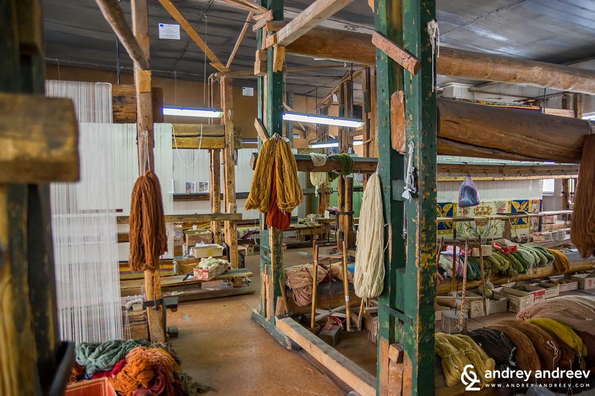 Фабриката за килими в Костандово