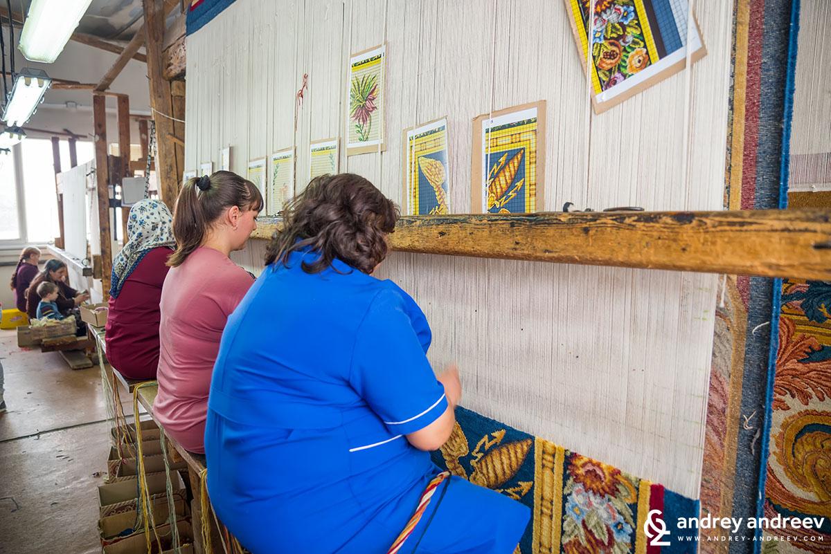 Как се тъкат килими