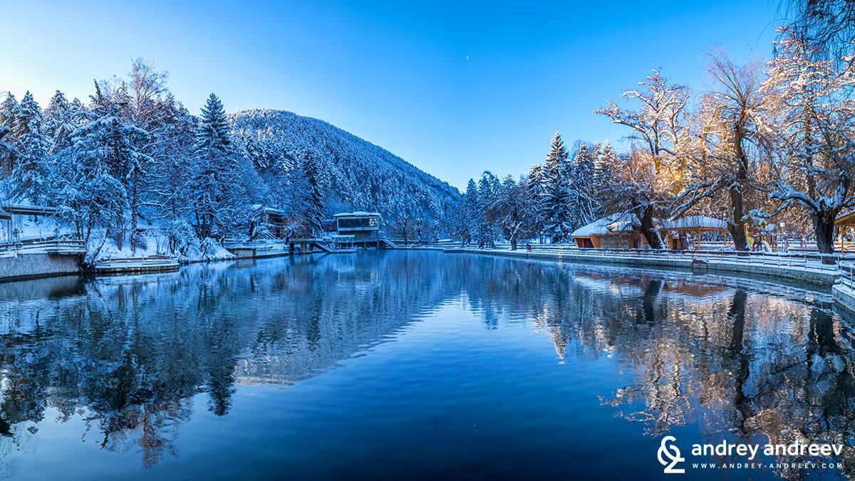 Kleptuza lake, Velingrad, Bulgaria