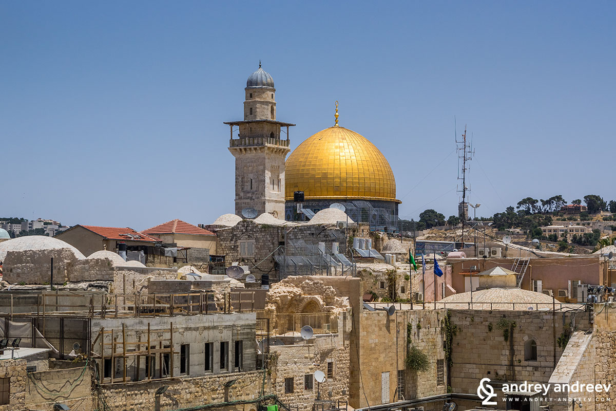 View to Temple Mount