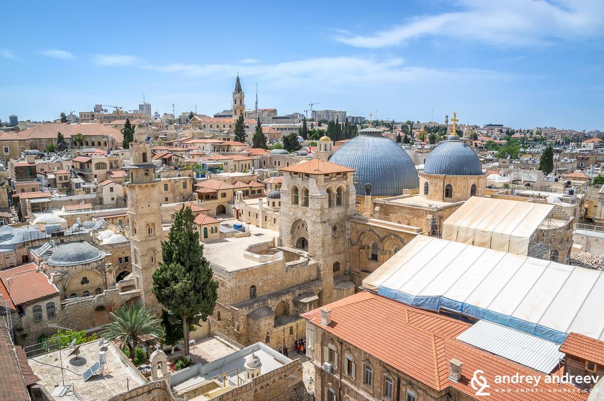 """Йерусалим и църквата """"Възкресение Господне"""""""