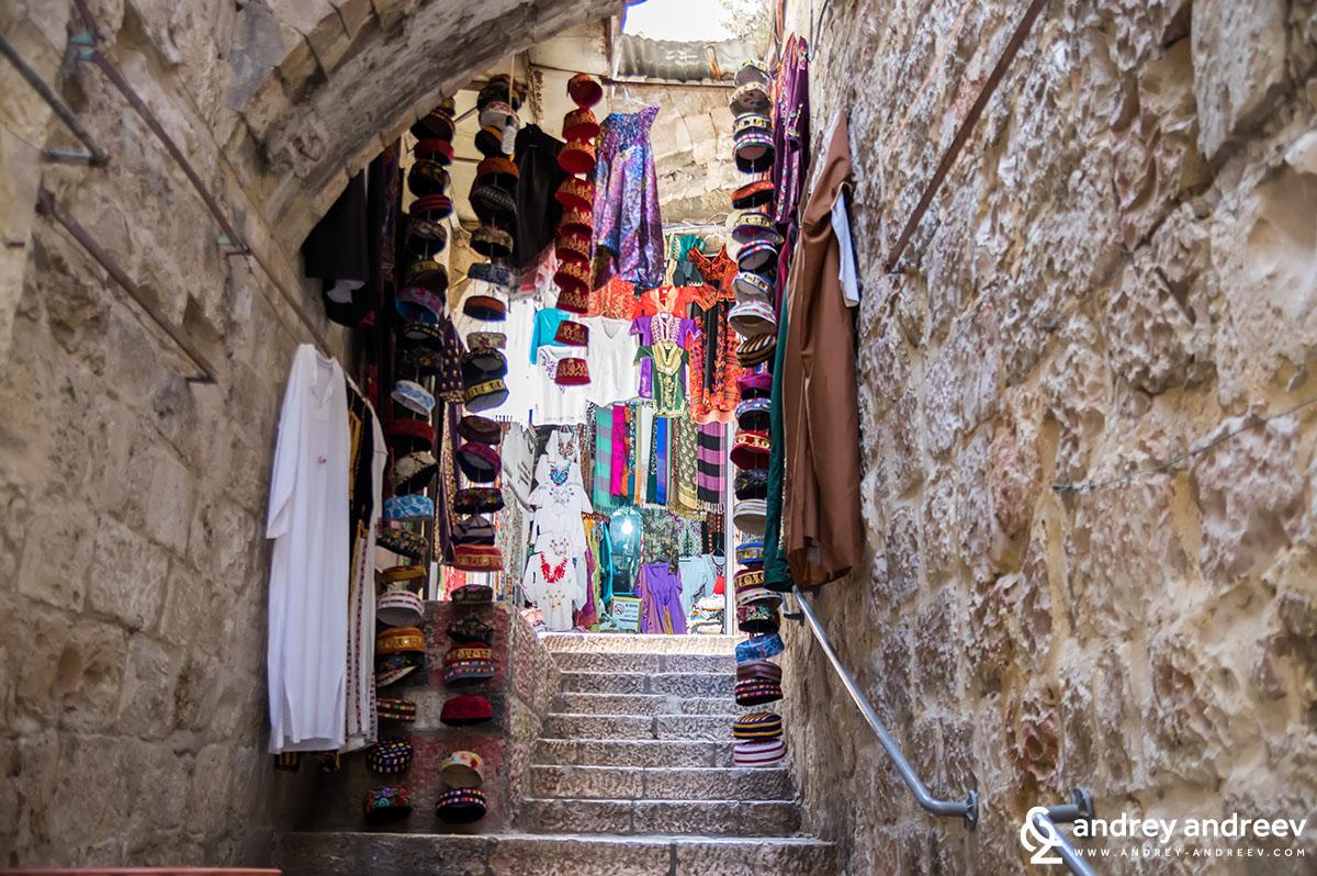 Тесните улички на Йерусалим