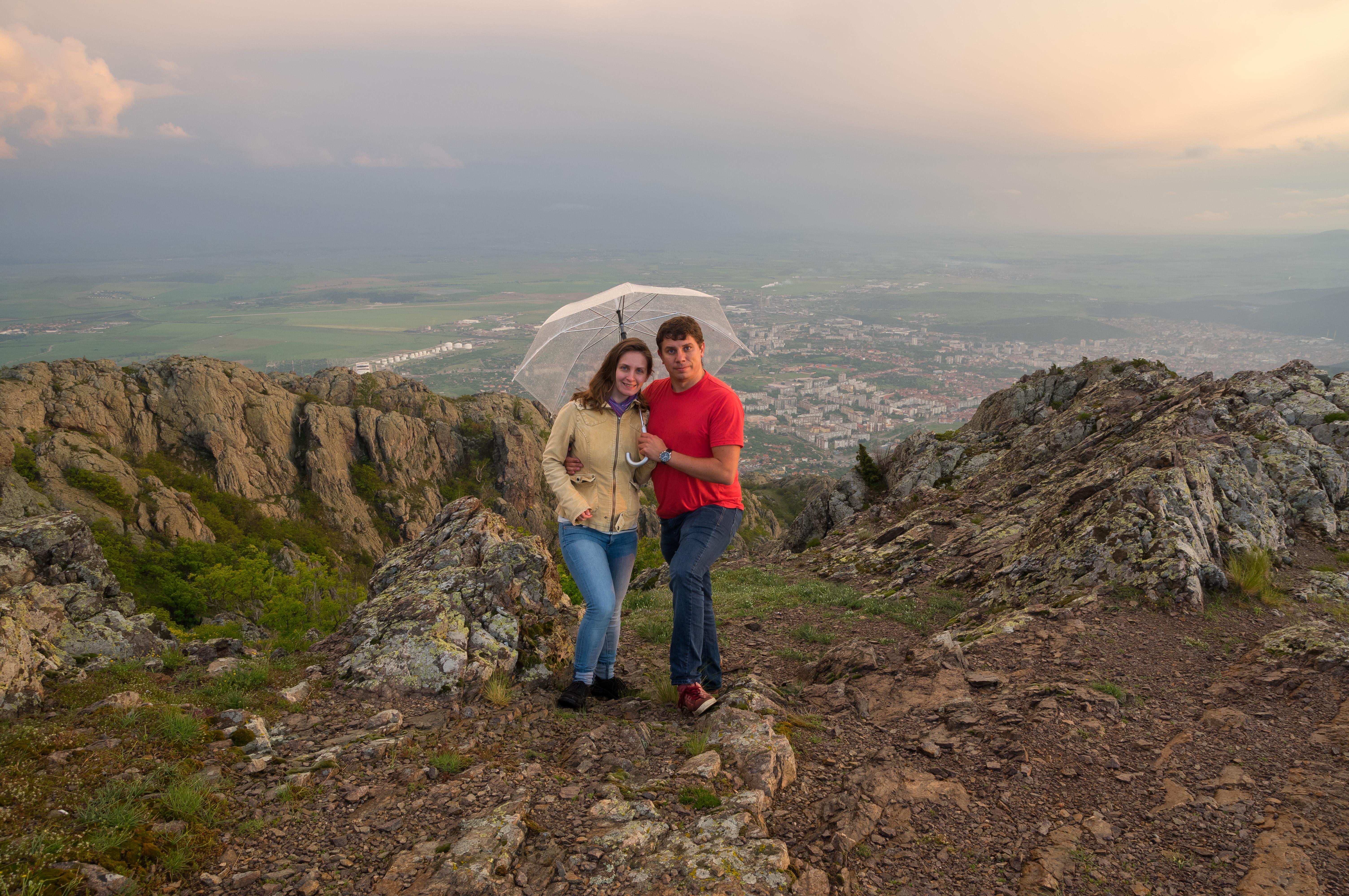 Андрей и Мими на Сините камъни