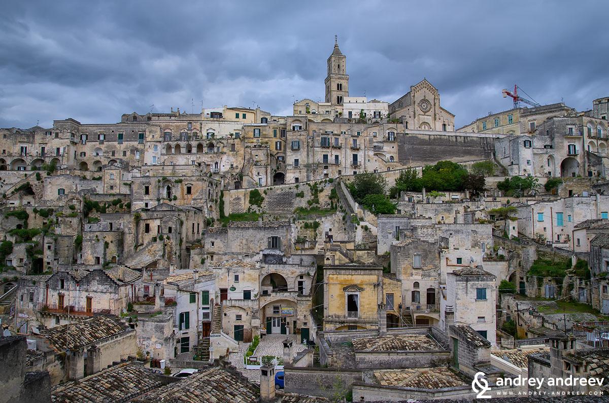 Старият град на Матера