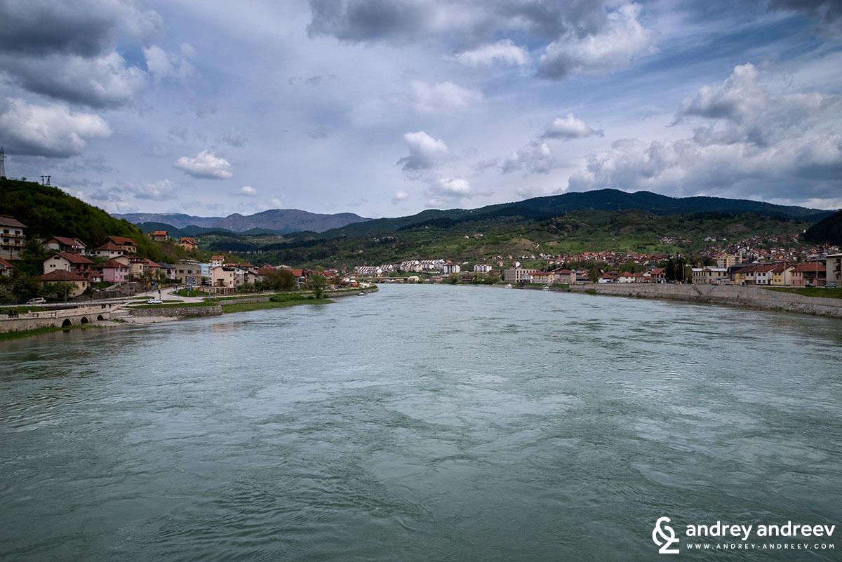 река Дрина и Вишеград