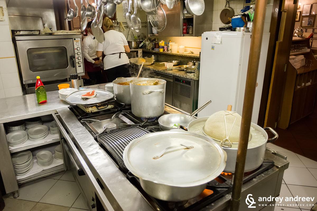Кухнята на Тратория Анна Мария