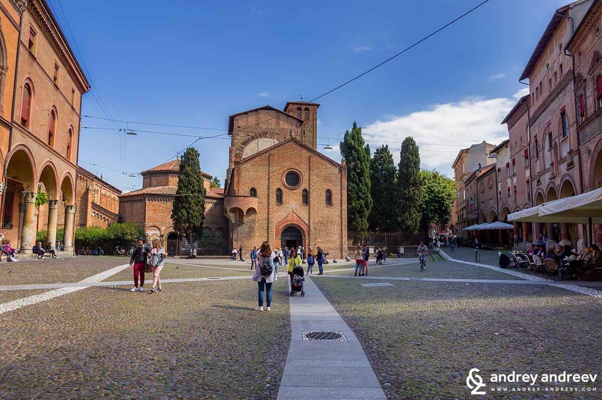 The Seven Churches - Santo Stefano (Sains Stephen) church in Bologna, Italy