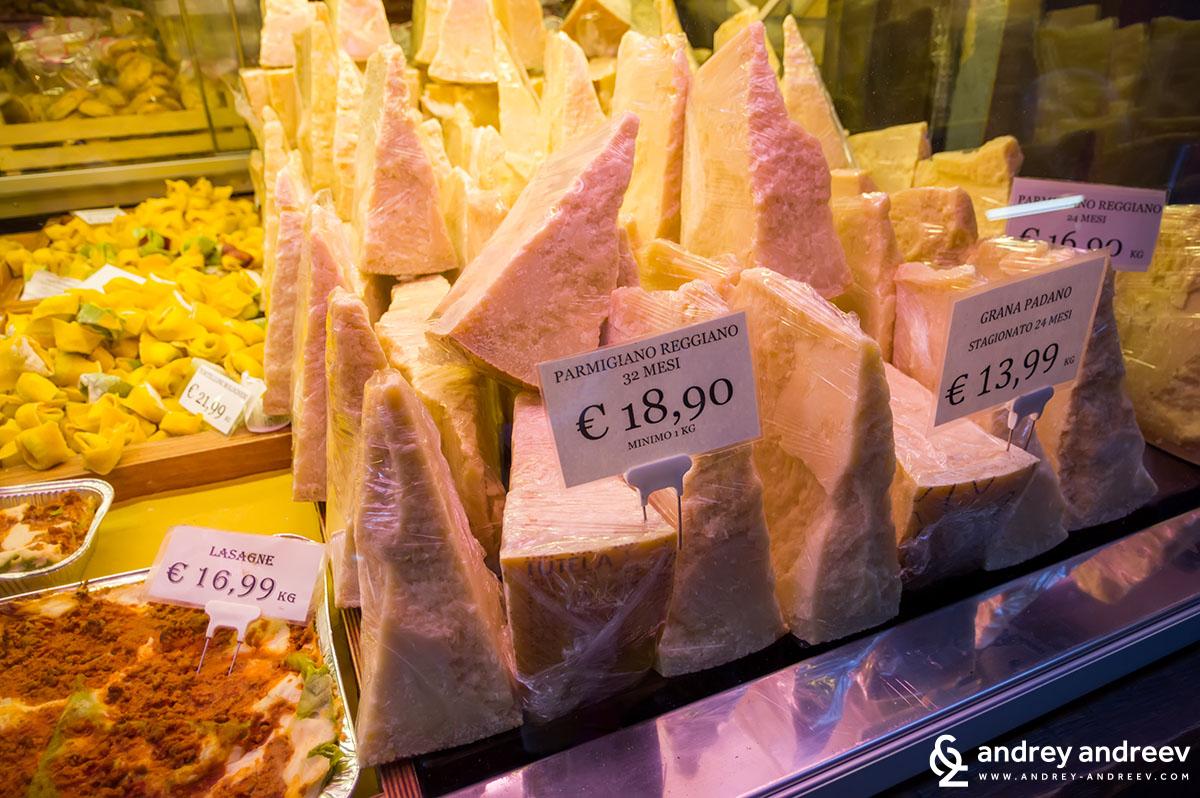 Храната в Болоня
