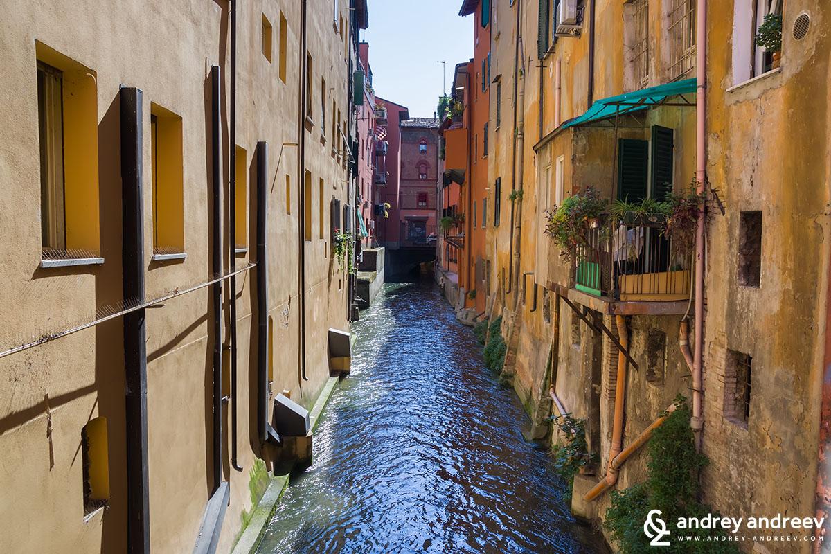 channel Reno in Bologna