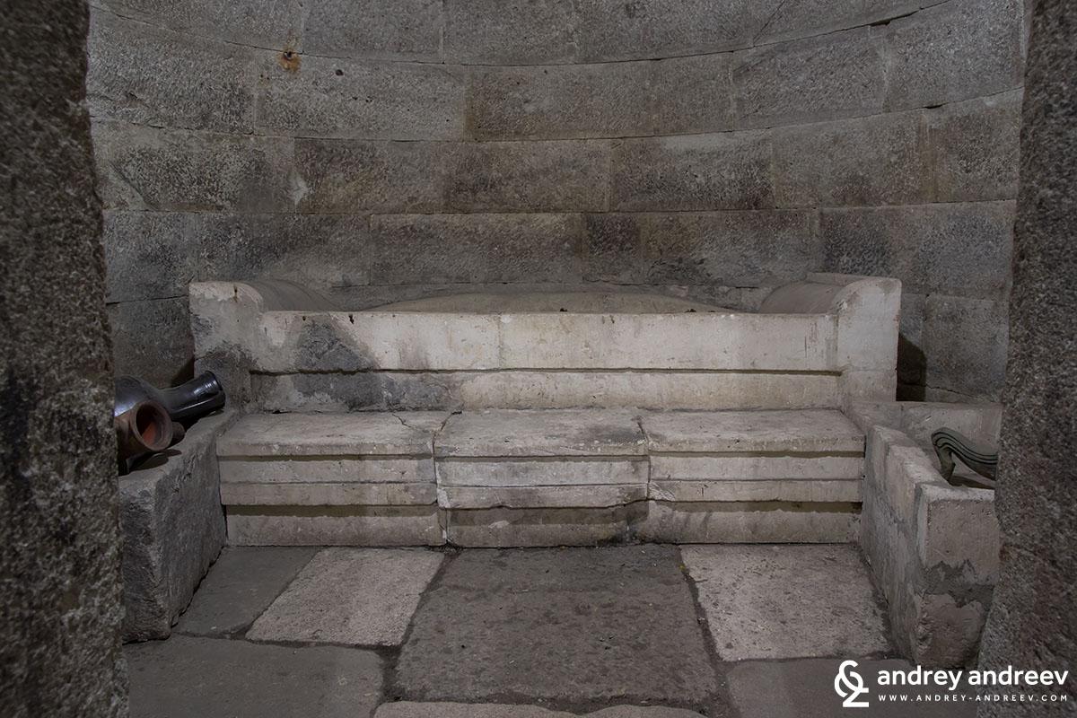The burial site at Mezek Thracian tomb, Bulgaria