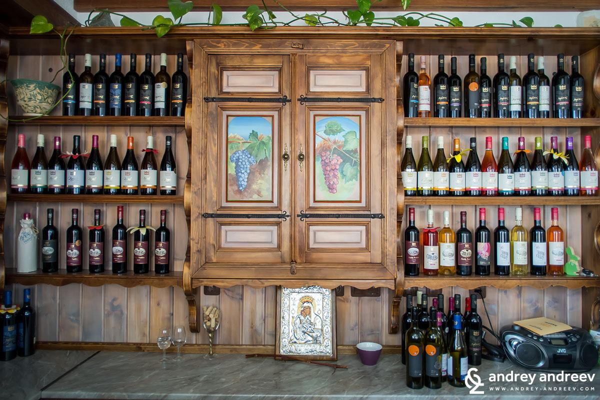 Villa Melnik wines