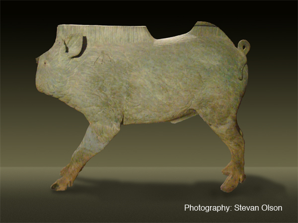 The bronze boar from Mezek Thracian tomb