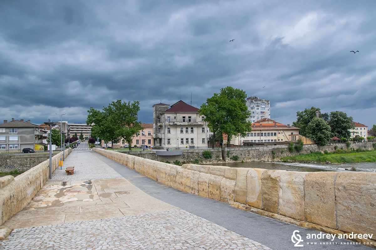 The old bridge in Svilengrad, Bulgaria