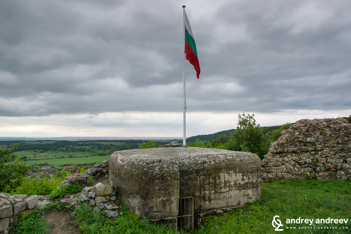 The fake WW2 bunker at Mezek fortress, Bulgaria