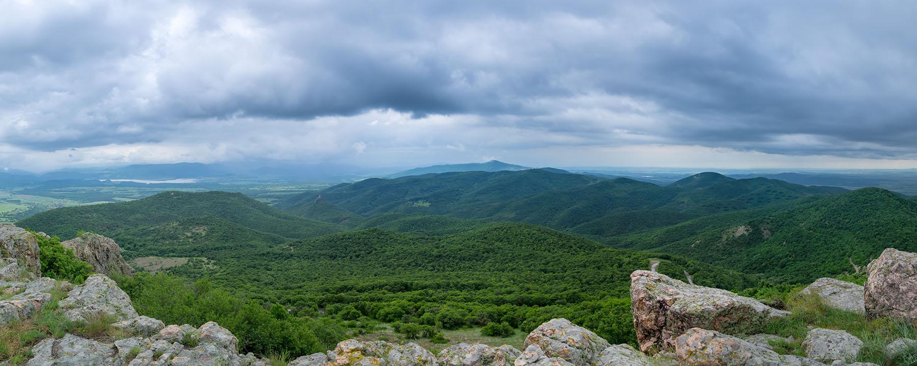 Гледка от връх Шейновец