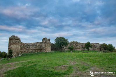 Mezek fortress in Bulgaria - southern wall