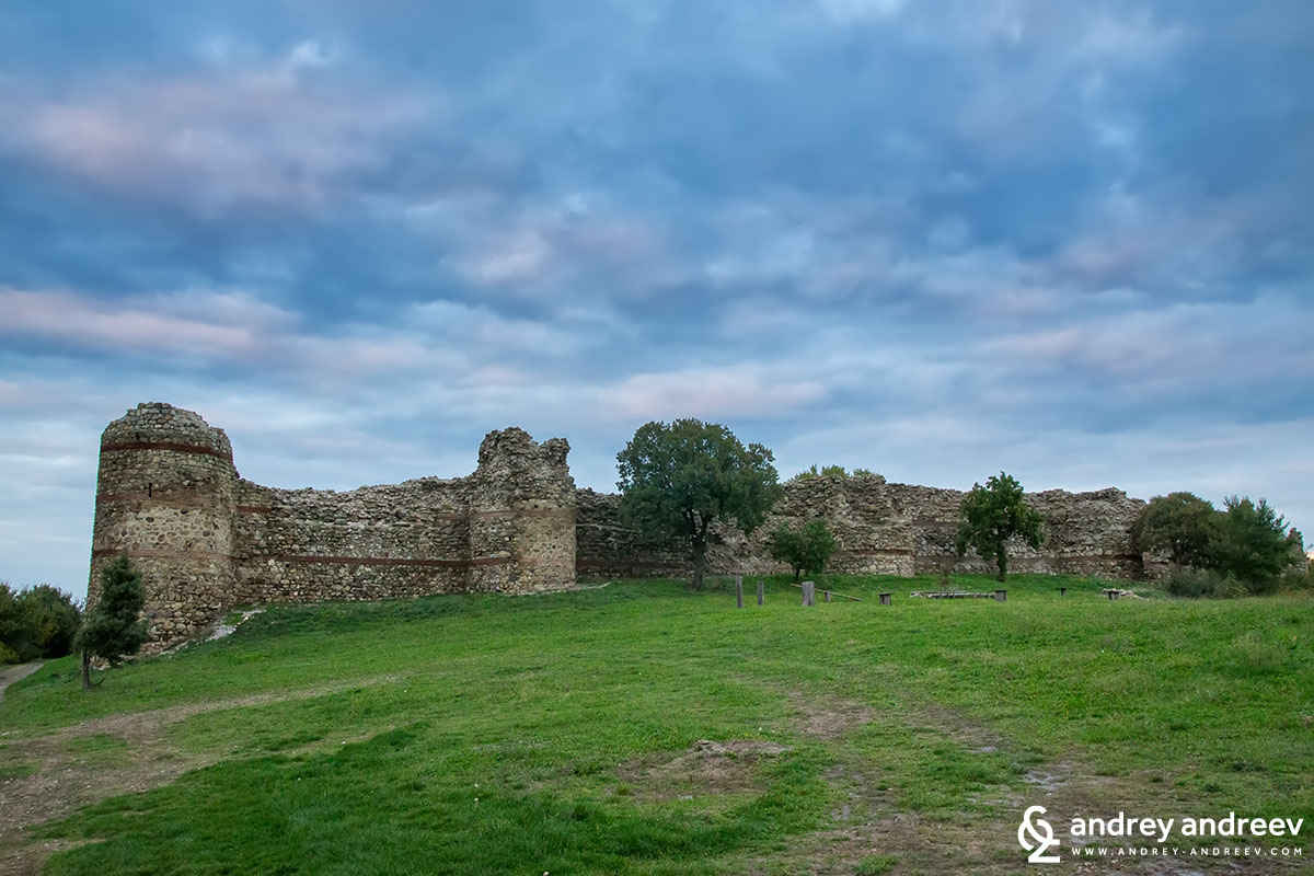 Mezek fortress in Bulgaria - southern wall