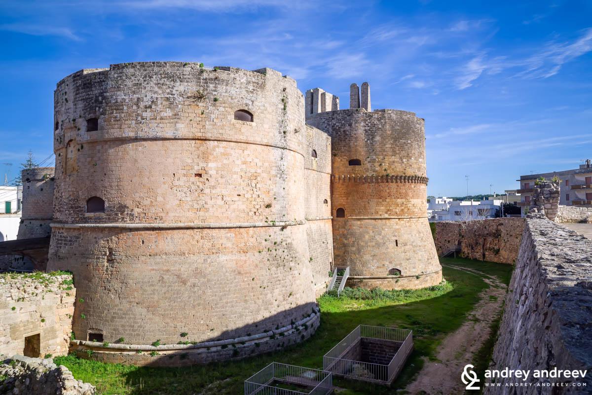 Крепостта в Отранто