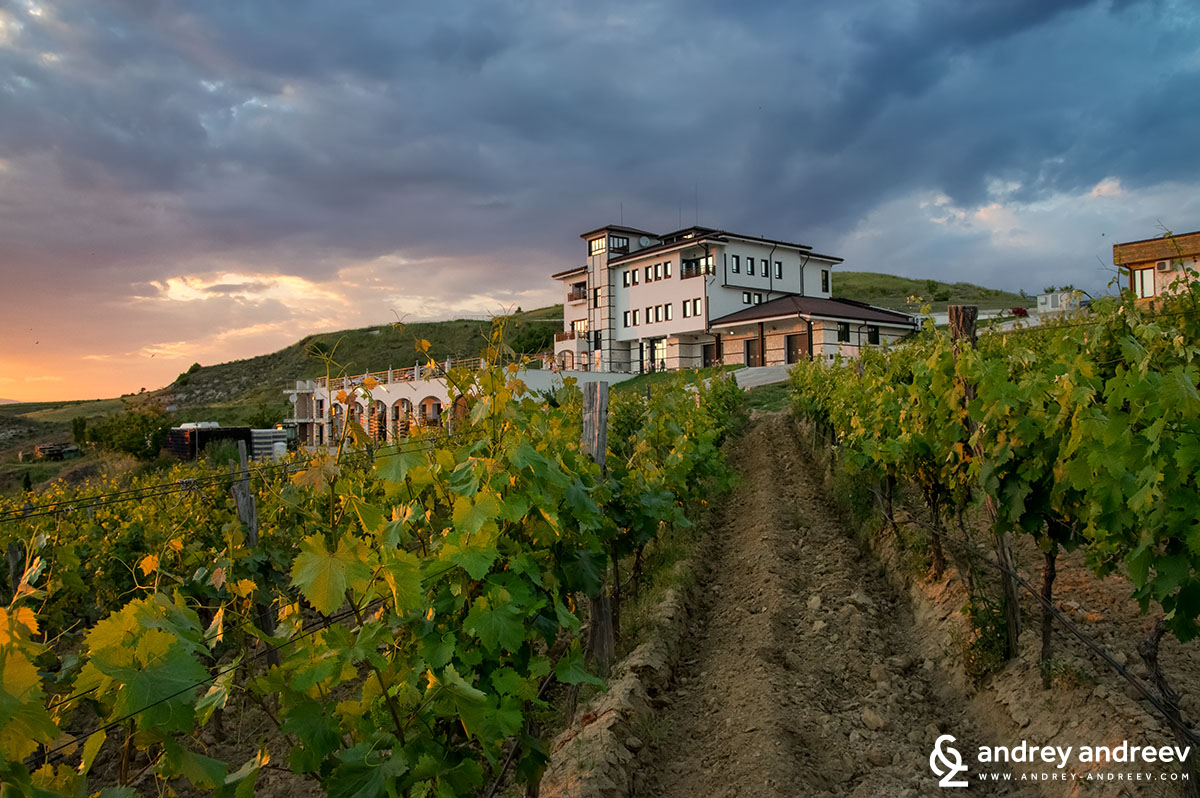 Family-owned Bulgarian winery Villa Melnik, one of our favourite wineries in Bulgaria, Bulgarian wineries