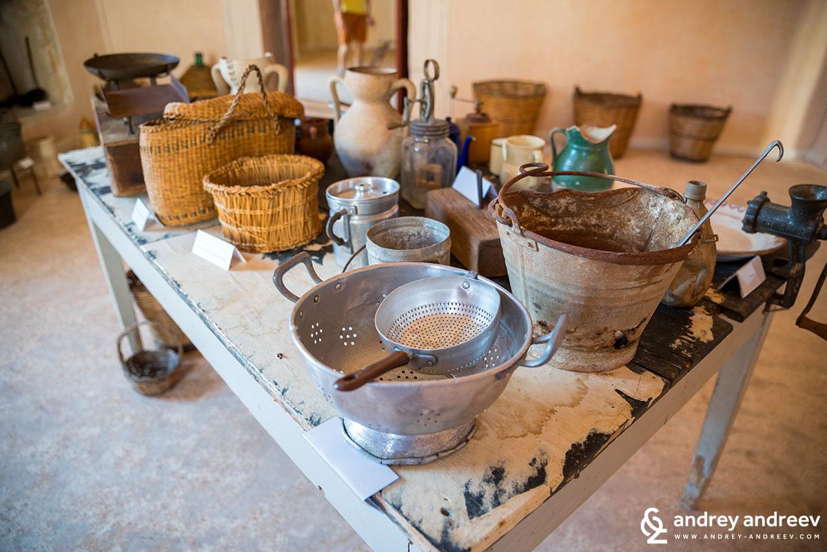 Municipality museum i Tiggiano, Southern Italy