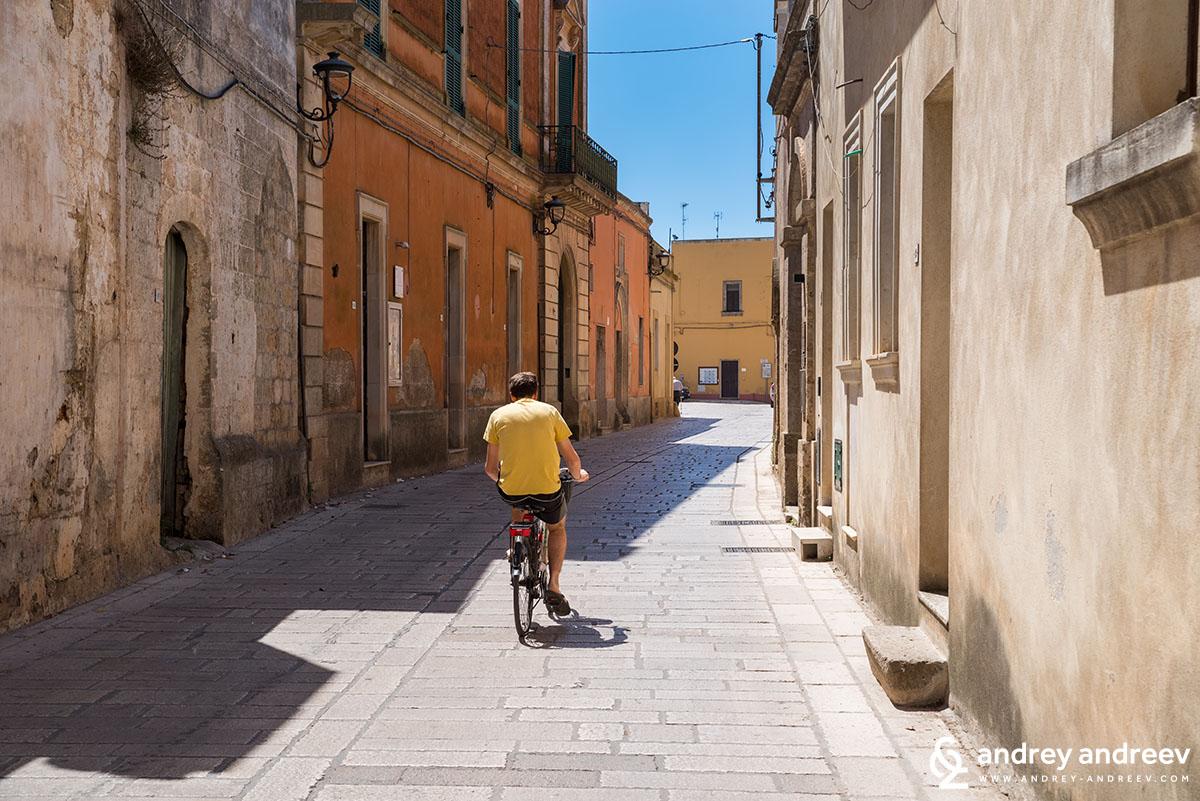 Тиджано, Южна Италия