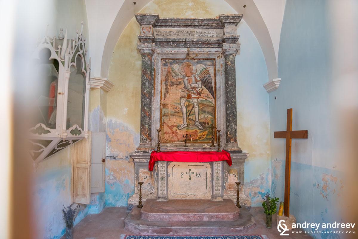 Параклис Св. Архангел Михаил в Тиджано, Южна Италия
