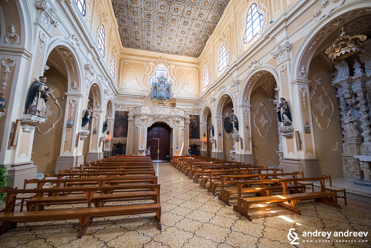San Domenico convent in Tricase, South Italy