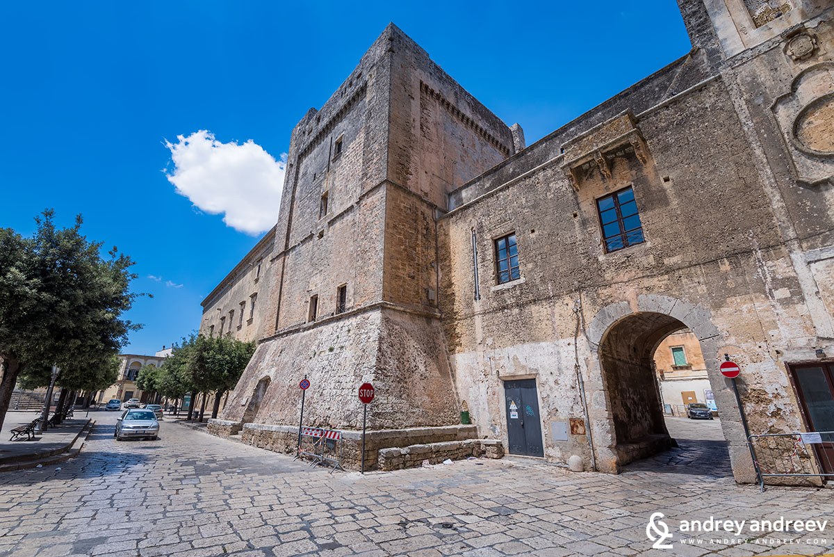 Gallone palace in Tricase, southern Italy