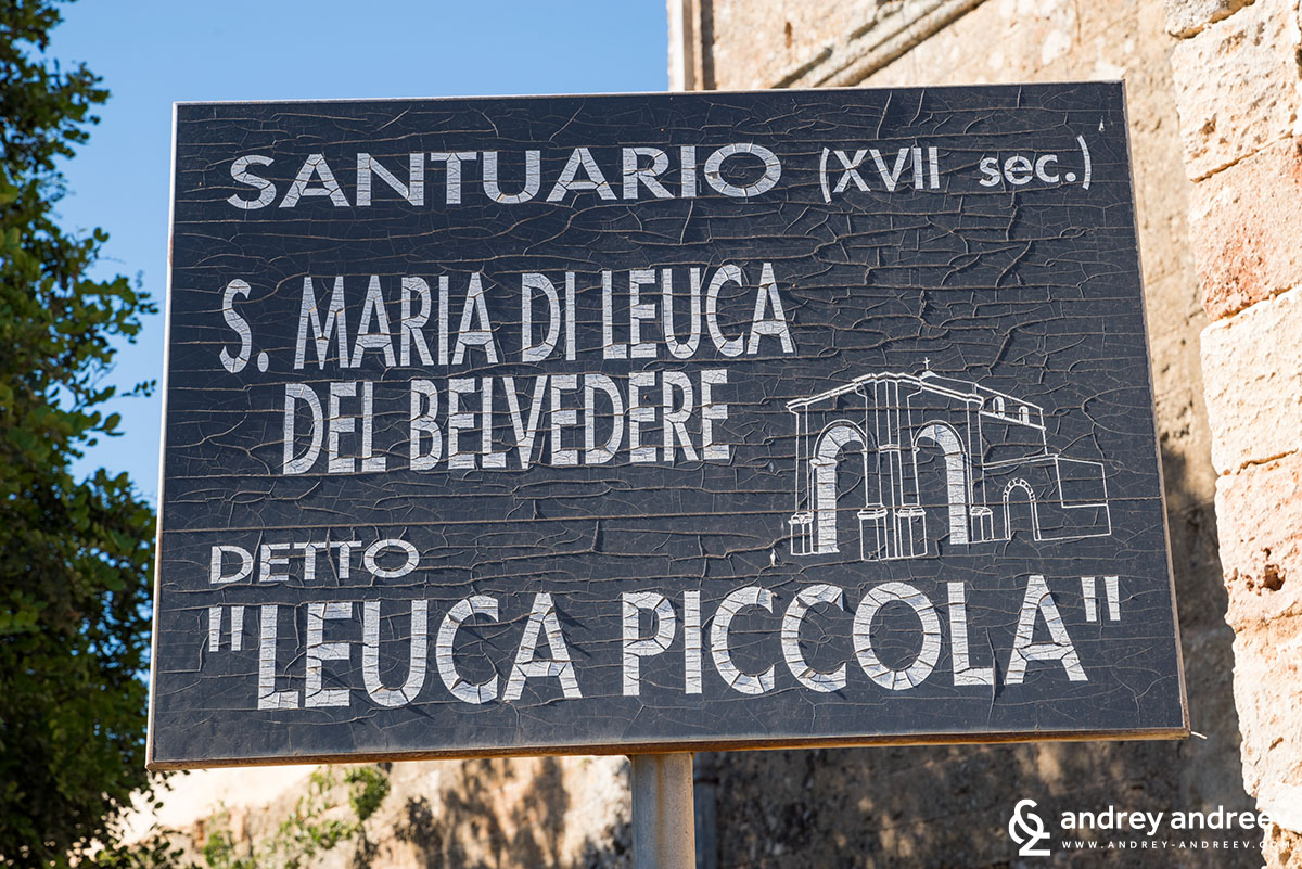 Leuca Piccola, South Italy