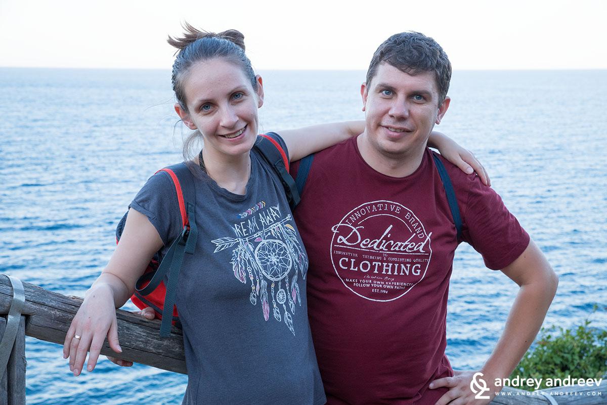 Ето ни и нас с една романтична снимка :)