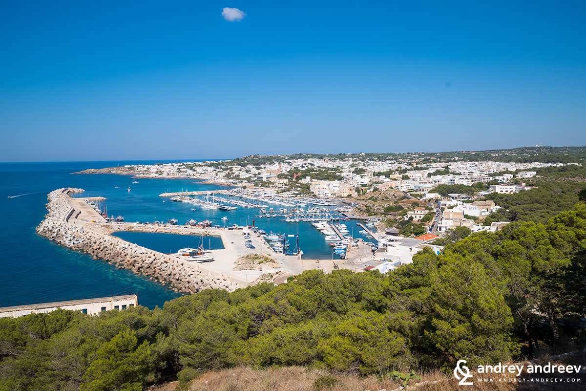 The town of Leuca