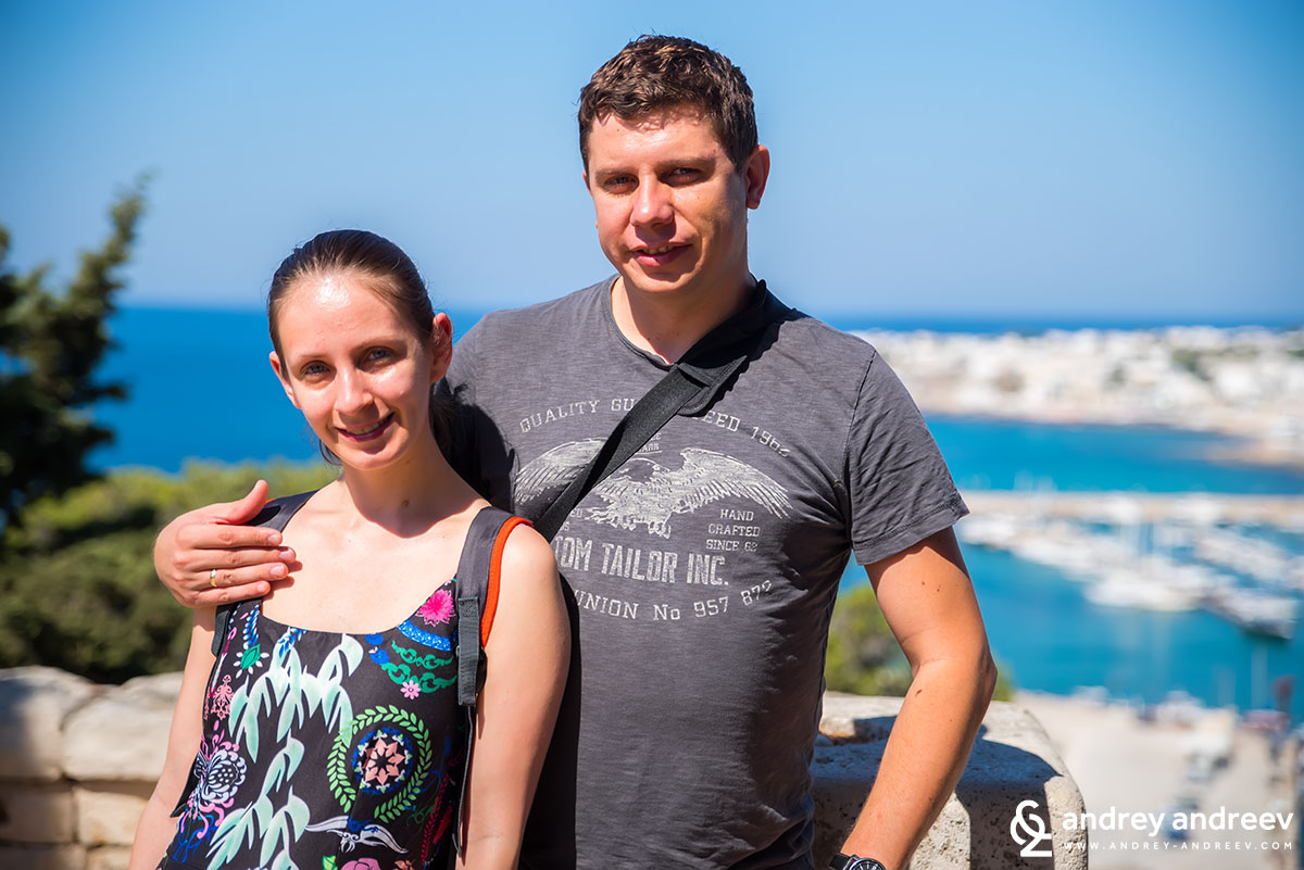 Andrey Andreev Photography team - Andrey and Mimi