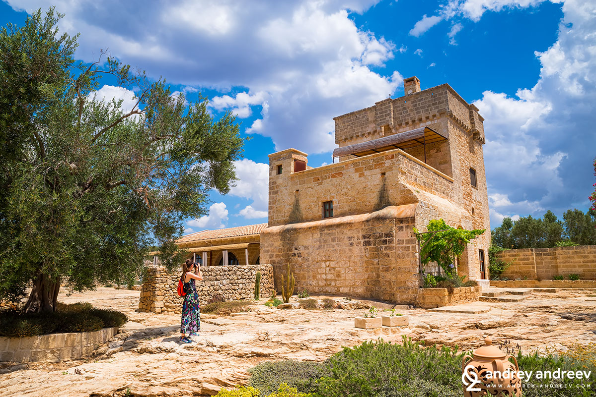 Luxury private farm with hotel in Salento, Italy