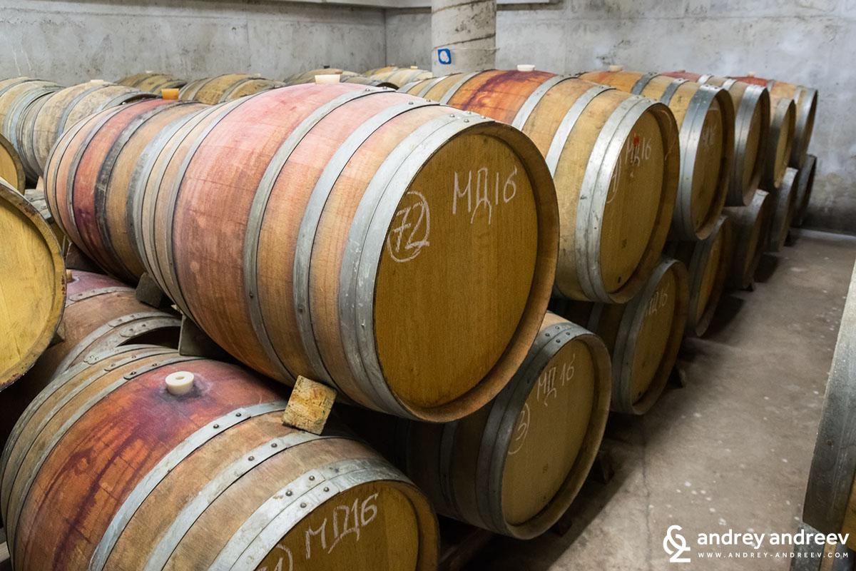 Избата на винарна Марян