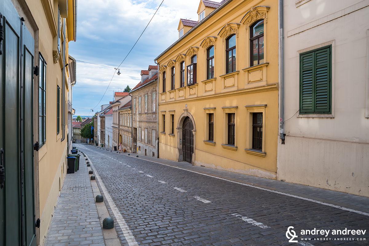 Streets of Gorni Grad, Zagreb
