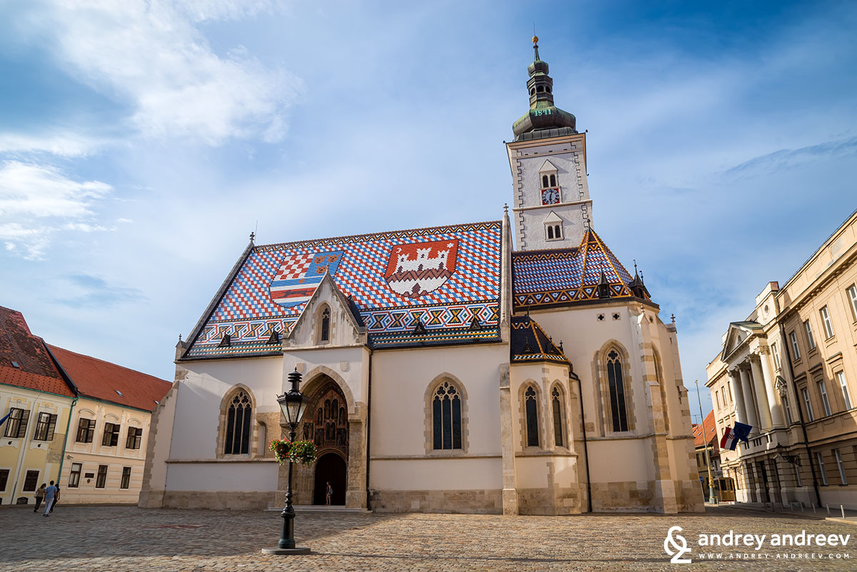 Saint Mark's church, Zagreb 2
