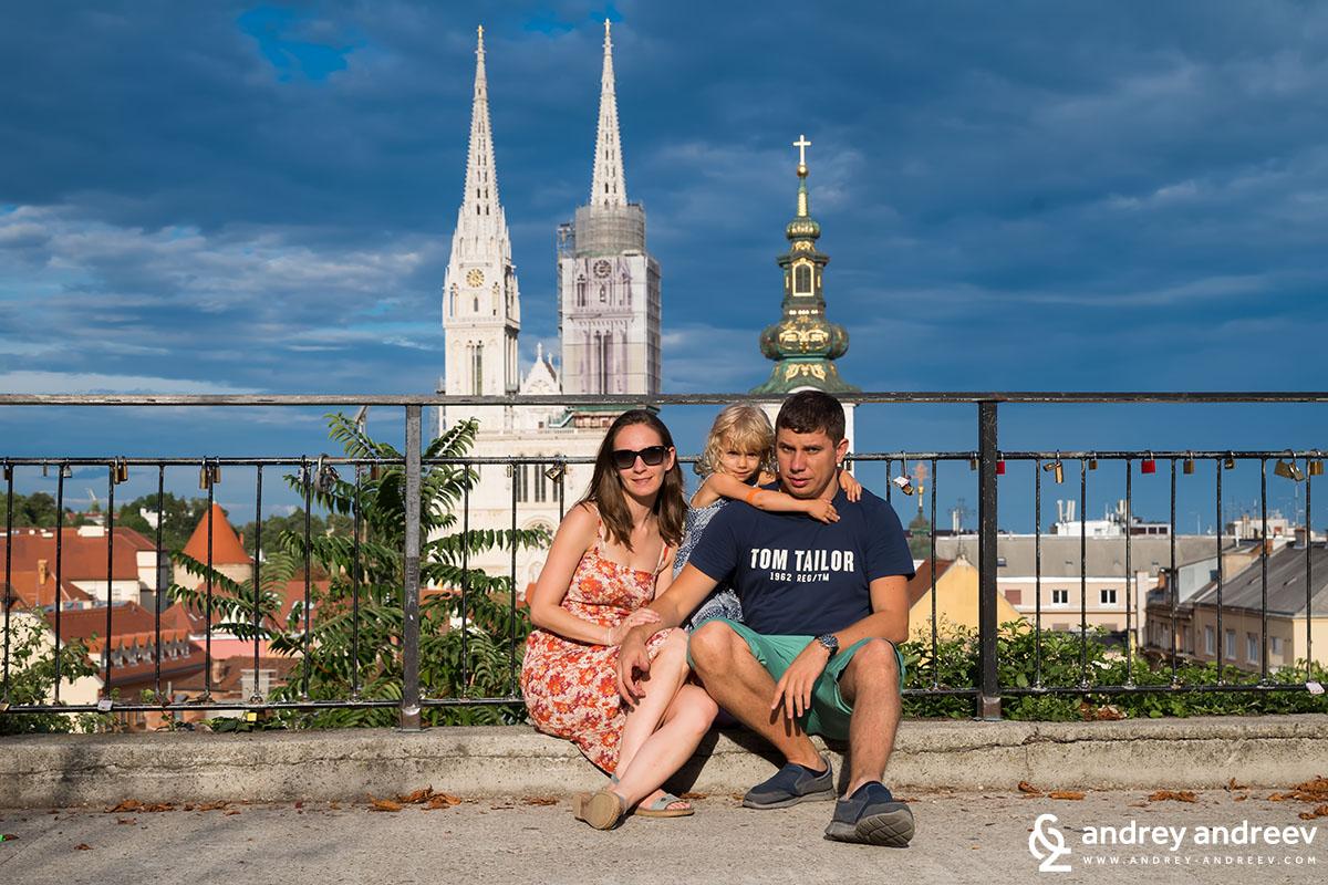 Андрей Мими и Ани в Загреб