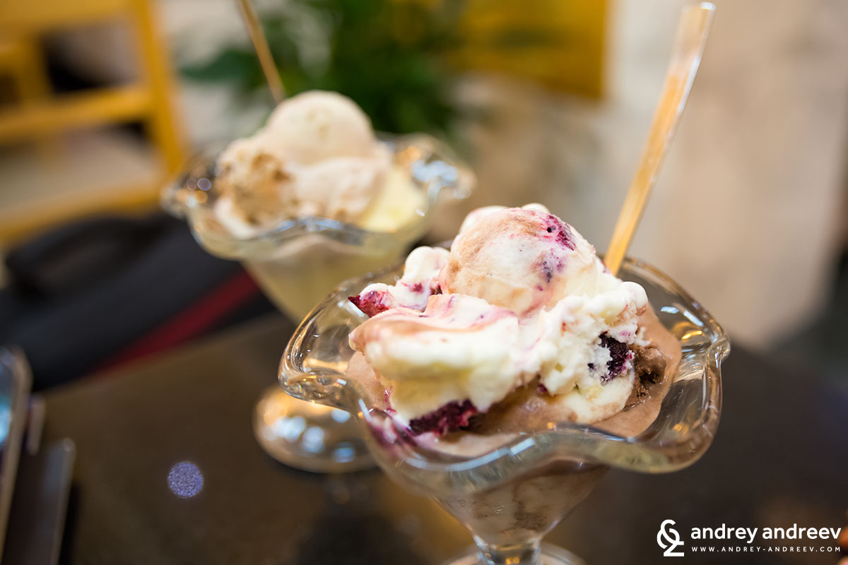 Escape from the heat at VINCEK sweet house, Zagreb