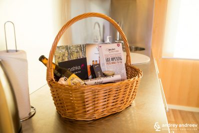 BIG BERRY welcome basket