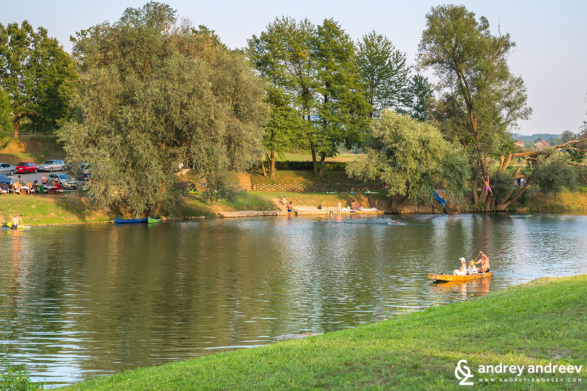 Kolpa River near Big Berry Glamping
