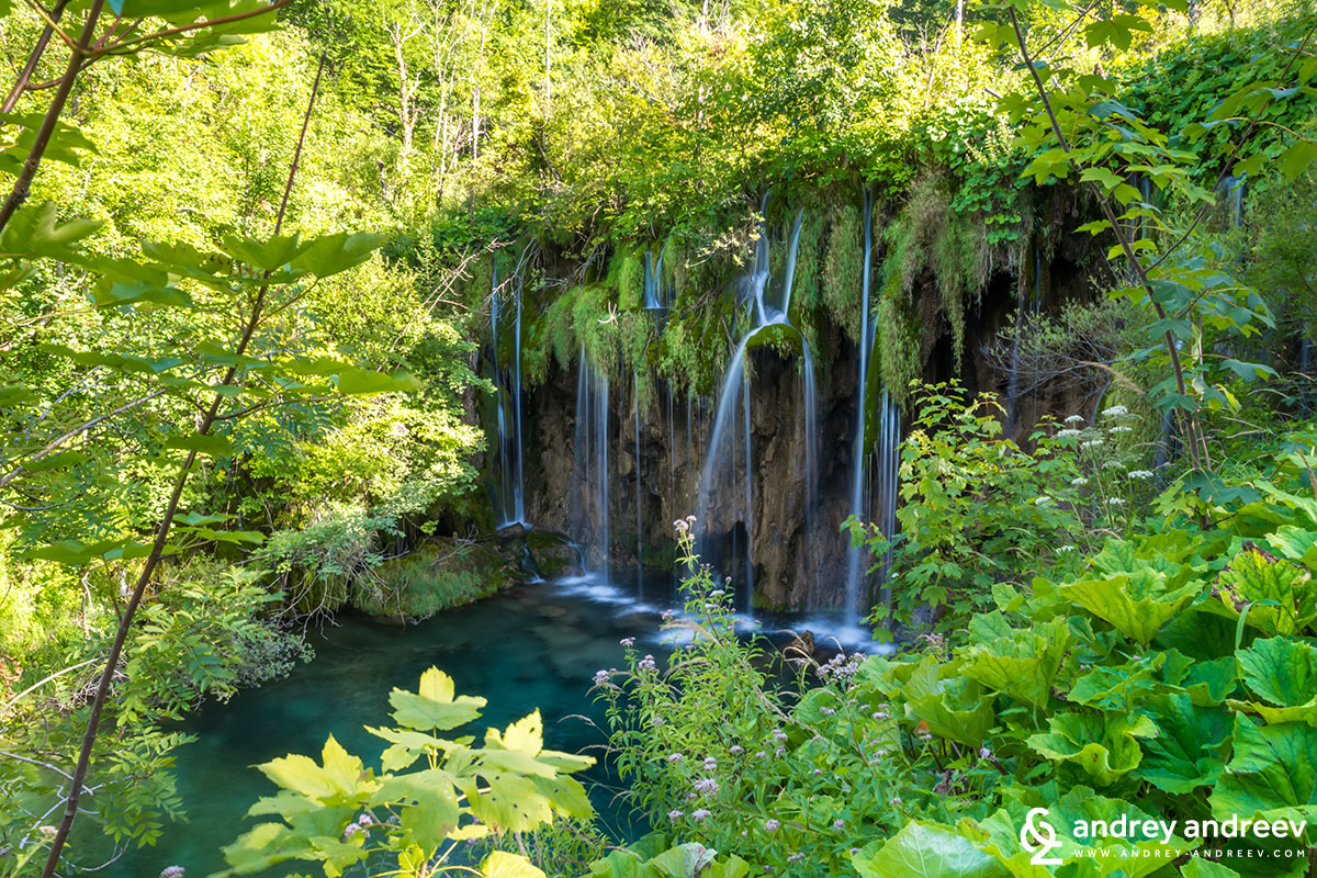 Waterfalls on Korana river, Croatia