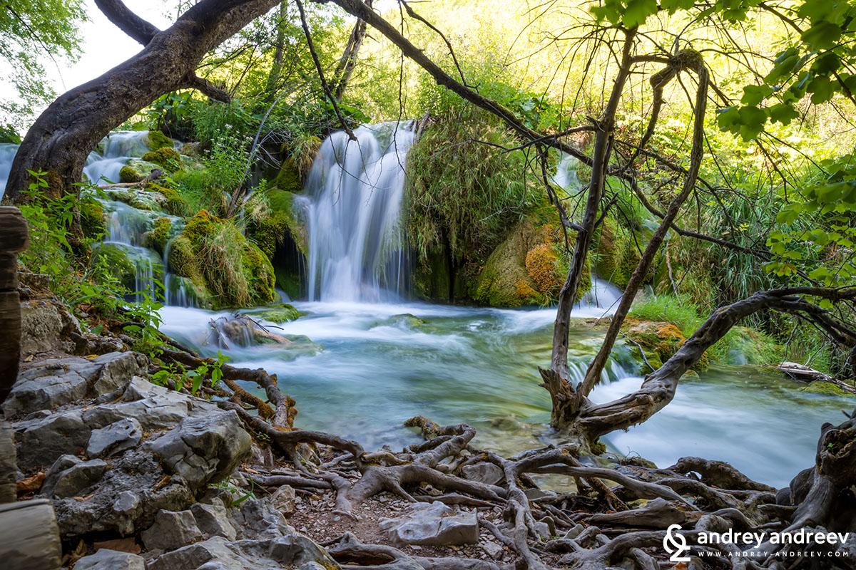 Красивите водопадчета на Плитвице