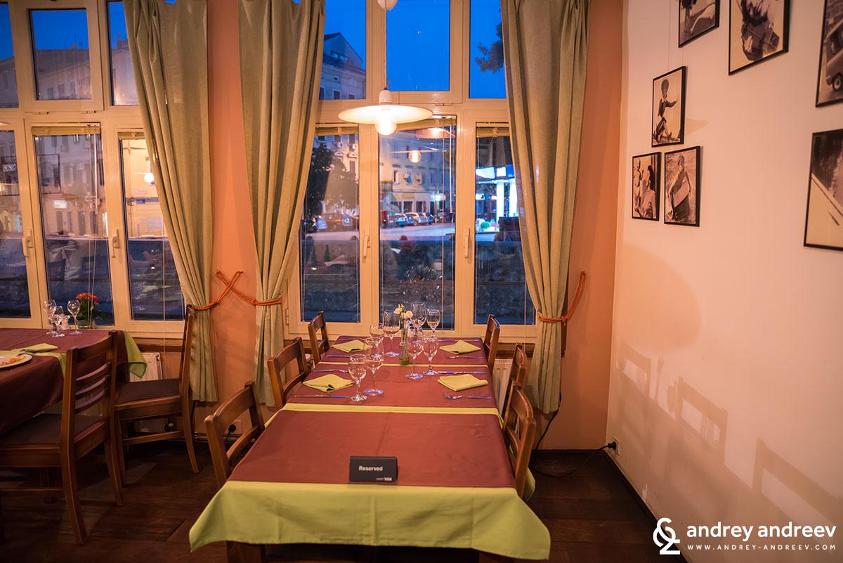Konoba Nebuloza tavern restaurant in Rijeka, Croatia