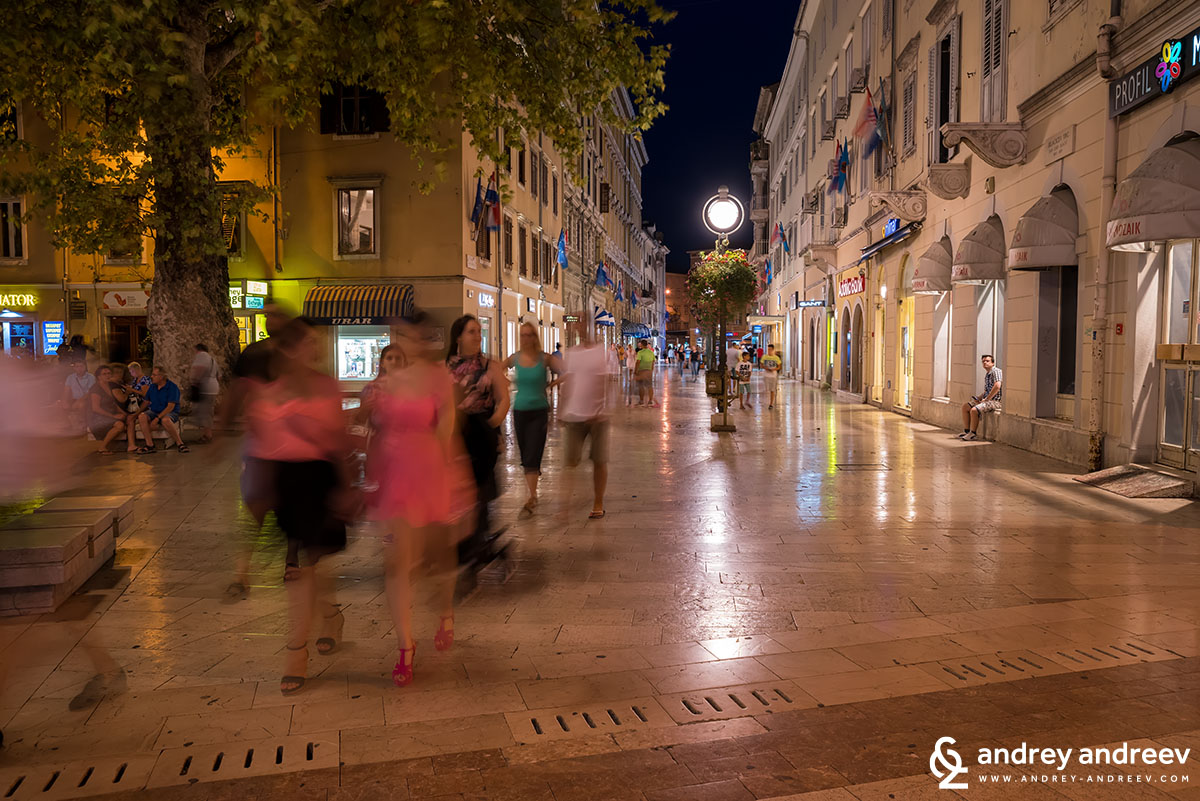 Korzo - Rijeka's promenade