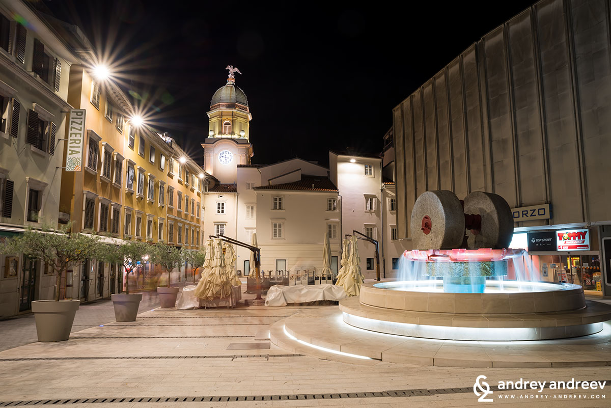Ivan Kobler square, Rijeka